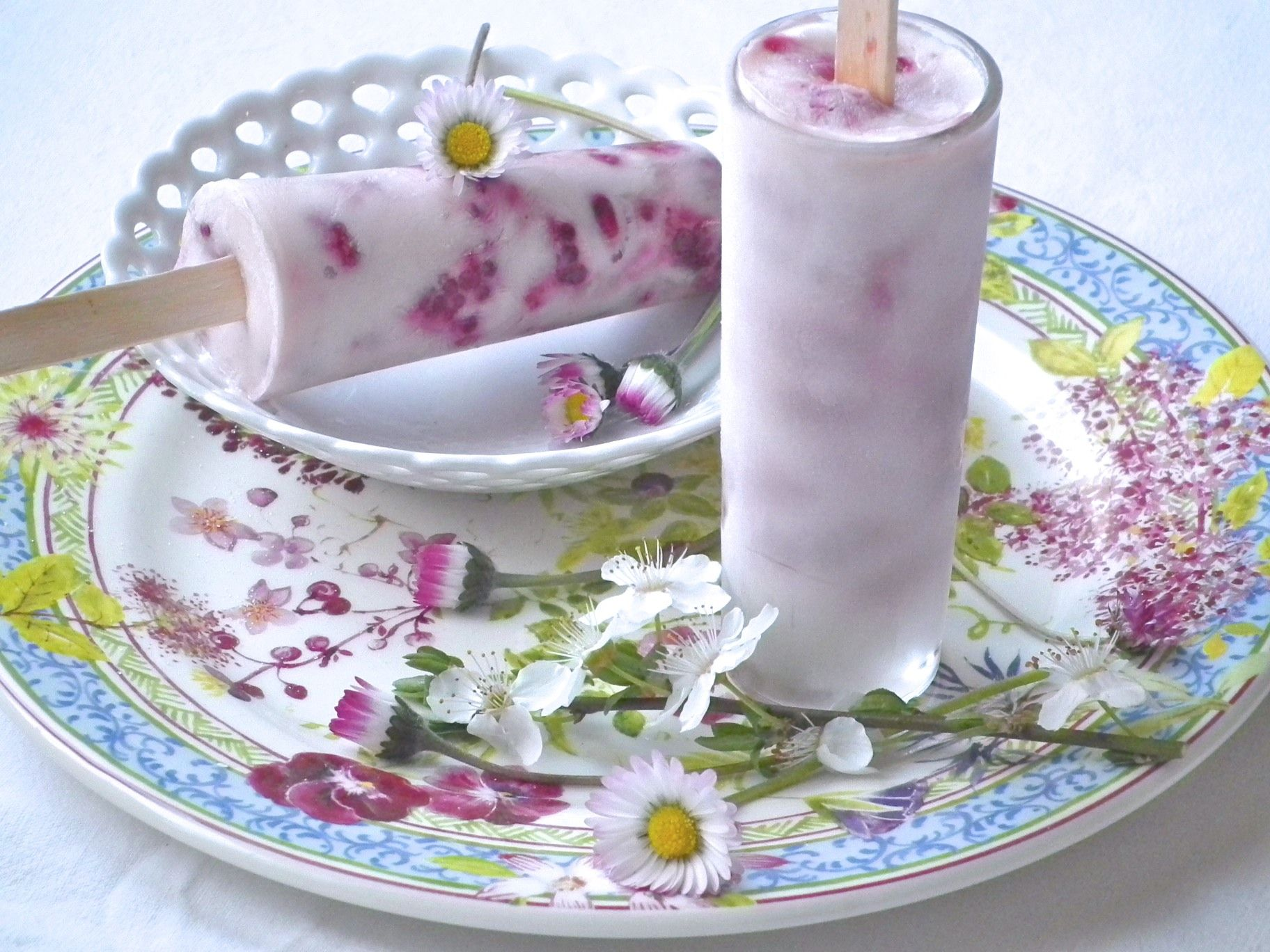 Yogurt Ice Cream with Berries | All recipes blog