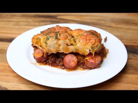 Hot Dog Pasta Bake Recipe